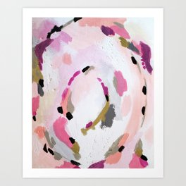 Lipstick Abstract Art Print