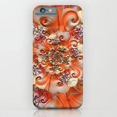 Relief Blossom orange iPhone 6 Slim Case