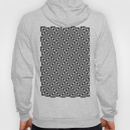 Black & White Squares Hoody
