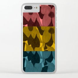 Flowers Through Different Lenses Clear iPhone Case