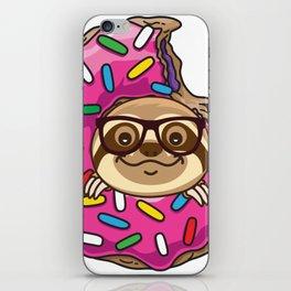 Kawaii Sloth iPhone Skin