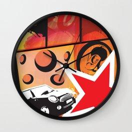 Ritratto surreale del consumismo Wall Clock