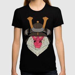 Samurai macaque T-shirt