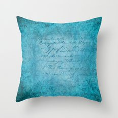 FLORAL DESIGN II Throw Pillow