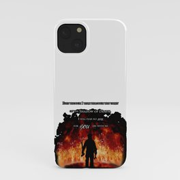 Firefighter Tribute iPhone Case