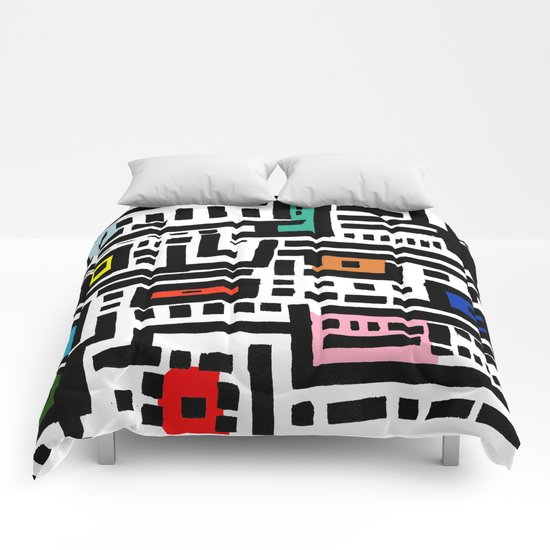 Urban  Cat Affair Comforters
