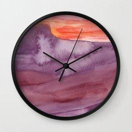 Mar de Lava Wall Clock
