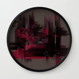 """""""Abstract Porstroke"""" Wall Clock"""