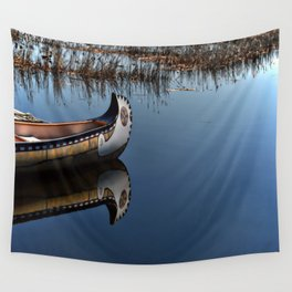 The Way of the Canoe Wall Tapestry