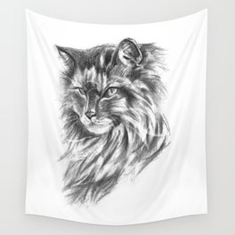 Maine Coon Cat Wall Tapestry