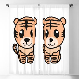 Little Tiger Blackout Curtain