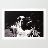 Colma Angel Art Print