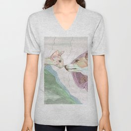 Creation of Ziggy Unisex V-Neck