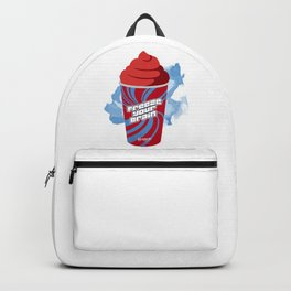 """Freeze Your Brain"" Heathers Minimalist Backpack"