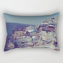 Oia, Santorini, Greece II Rectangular Pillow