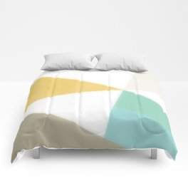 Geometric Abstraction - original abstract art Comforters