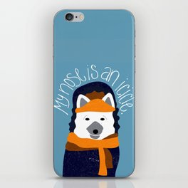Arctic Fox by Darah King iPhone Skin