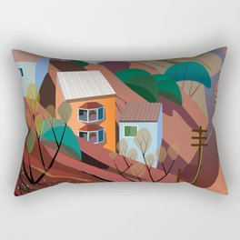 Nogales la Frontera Rectangular Pillow