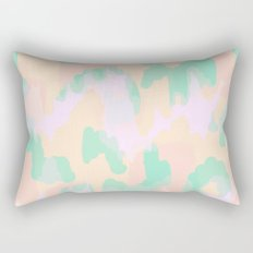 Tamsin - Soft Abstract Rectangular Pillow