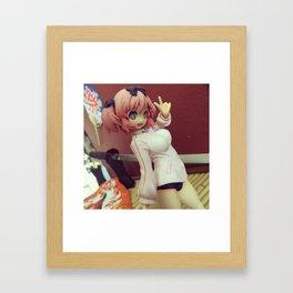 Hibari, Maishinobimasu! Framed Art Print