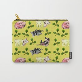Cats In the Grass Carry-All Pouch