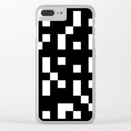 Abstract Video Game Clear iPhone Case