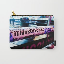 I Think of You Carry-All Pouch