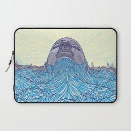 Ocean Face Laptop Sleeve