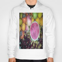 fruits Hoodies featuring SIMPLY FRUITS by Annie Koh