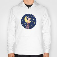 starry night Hoodies featuring Starry Night by Roberta Jean Pharelli