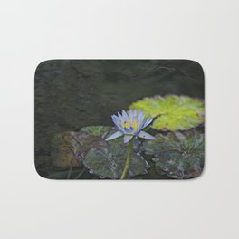 The water lily Bath Mat
