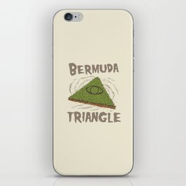 Bermuda Triangle iPhone Skin