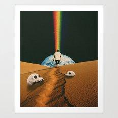 'Psycho Machine' Art Print