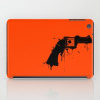 arsenal iPad Cases featuring Grunge Gun by Rceeh