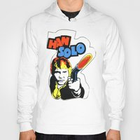han solo Hoodies featuring Han Solo by Popp Art