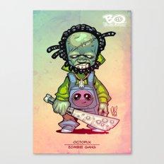 Z gang - Mr. Octopux - Villains of G universe Canvas Print