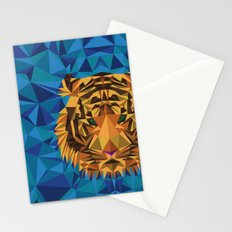 Liger Abstract - Its a Lion Tiger Hybrid Stationery Cards