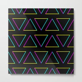 Dark Triangle Metal Print