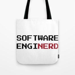 Funny Software Engineer Nerd Tote Bag
