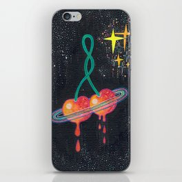 Space station love iPhone Skin