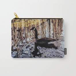 Abstract Waters Carry-All Pouch