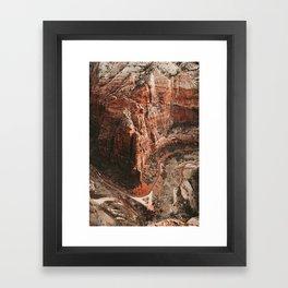 Zion Canyon Framed Art Print