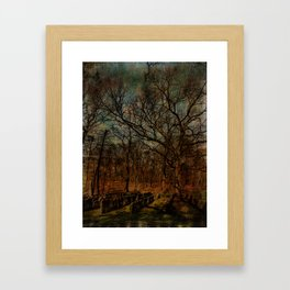 Cemetery within a Cemetery Framed Art Print