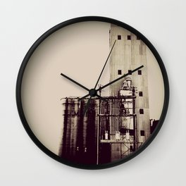 warehouse blues Wall Clock