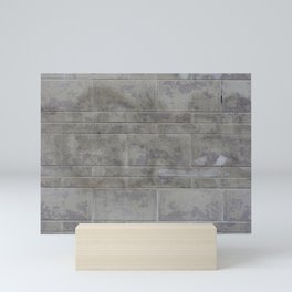 Urban Texture Photography - Concrete Wall Mini Art Print