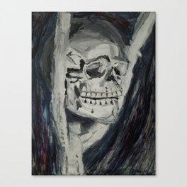 Skull Still-Life Canvas Print