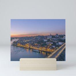 The view from Serra do Pilar - Porto and Gaia Mini Art Print