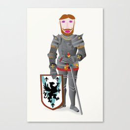 The Good Knight Canvas Print