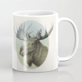 Moose head elk Coffee Mug