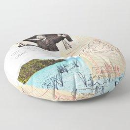 mountains out of molehills Floor Pillow